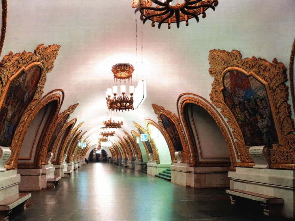 Экскурсии в метро Москва