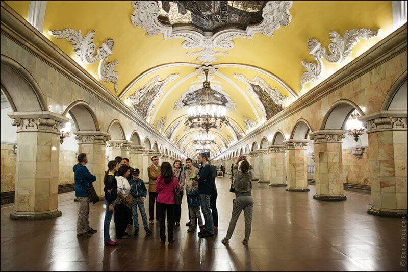 Экскурсии в Московском метро