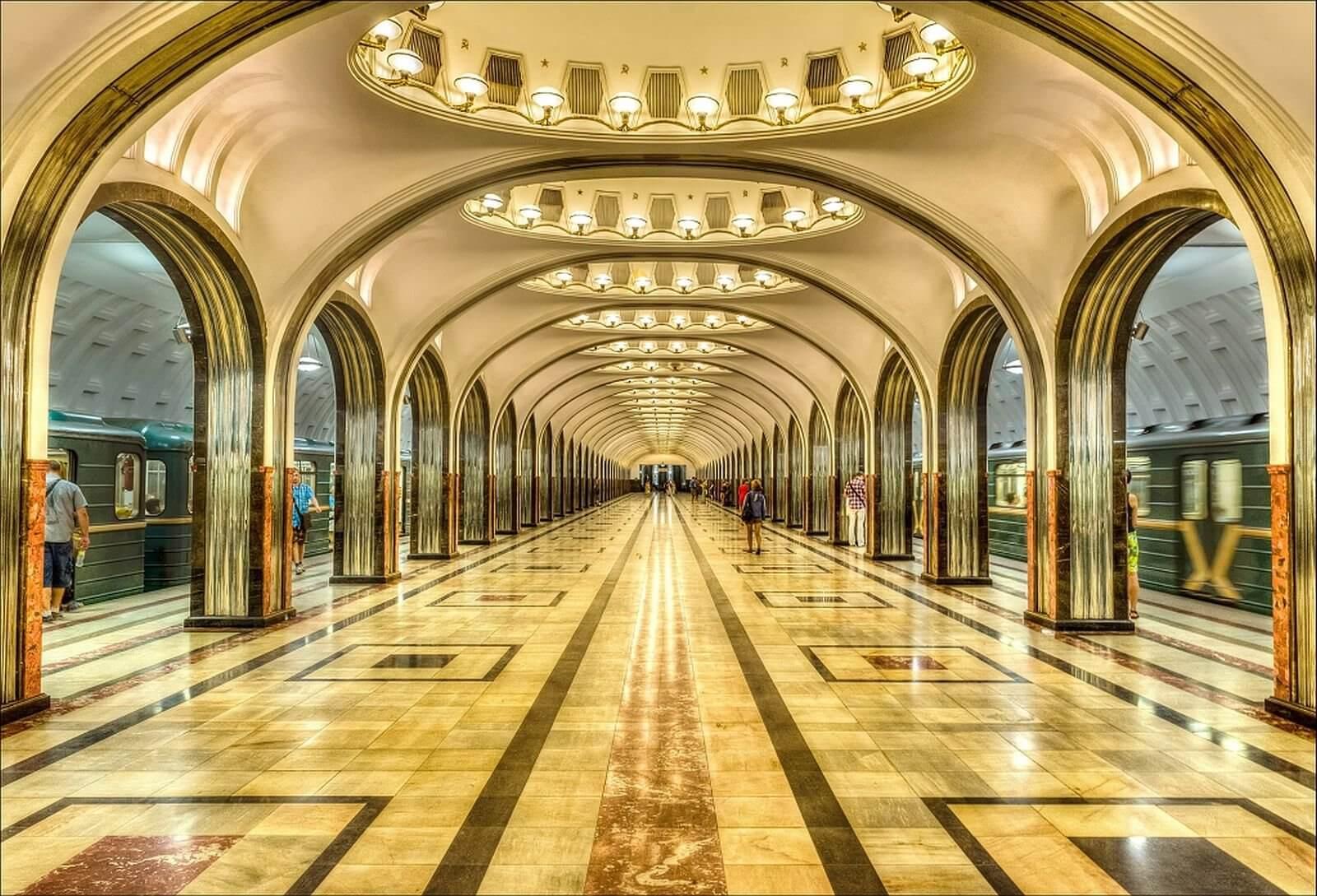 Московское метро экскурсии цена