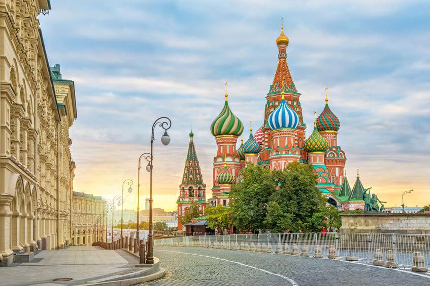 Экскурсия по Москве на английском языке