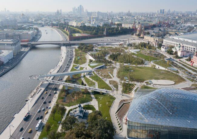 Экскурсия по Китай-городу и в парк «Зарядье»