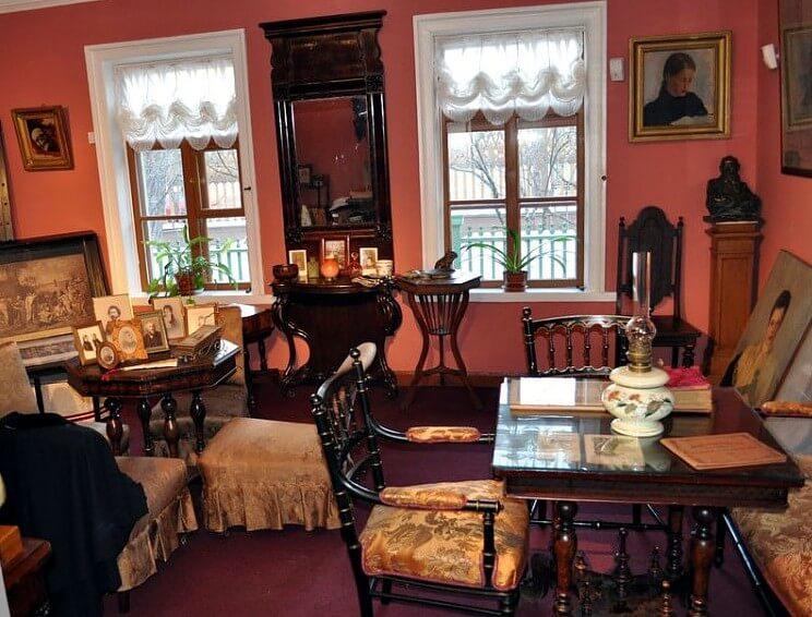 Экскурсия в музей-усадьбу Льва Толстого в Хамовниках