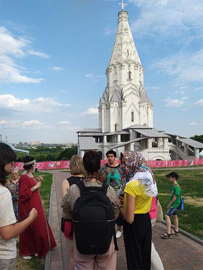 Экскурсия Коломенское