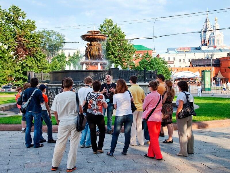 Экскурсии по центру Москвы цена