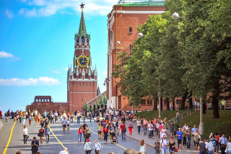 Экскурсии по центру Москвы