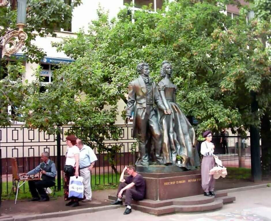 Экскурсия по Старому и Новому Арбату
