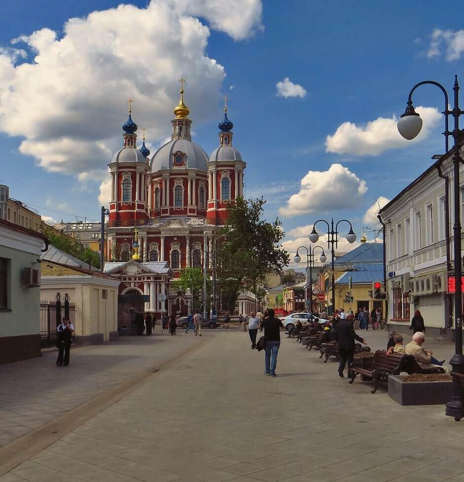 Экскурсия по Замоскворечью