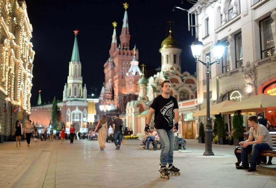где кушать и гулять в Москве
