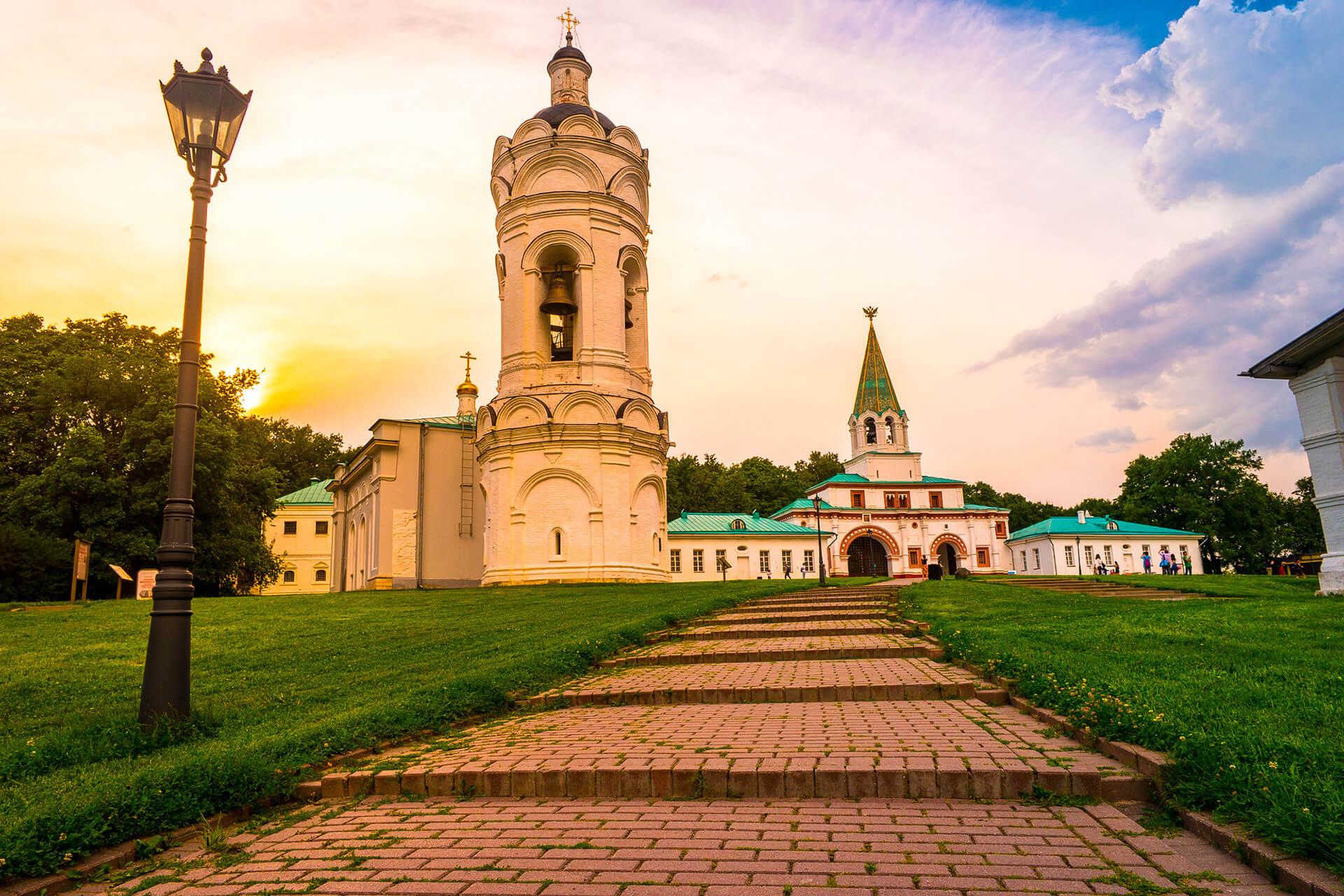 Park tour Kolomenskoye