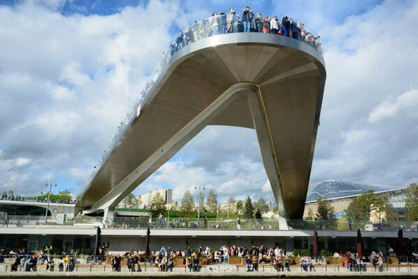 Парящий мост Москва экскурсия