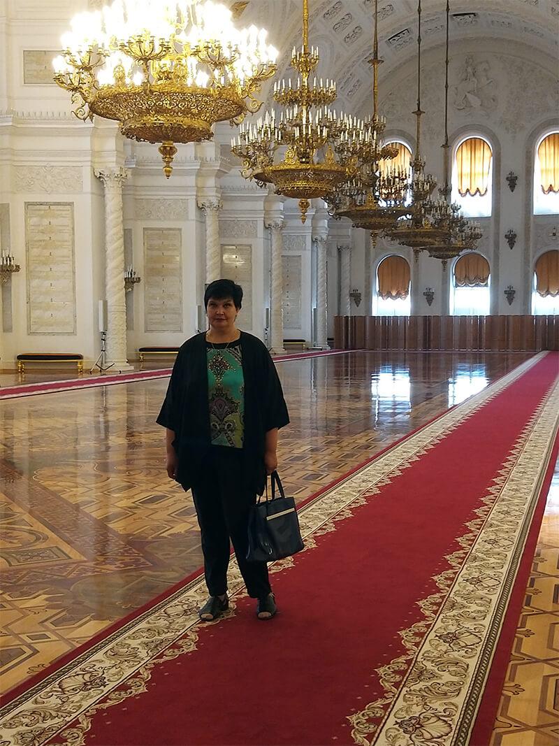 Валерия Полянчикова экскурсии по Москве