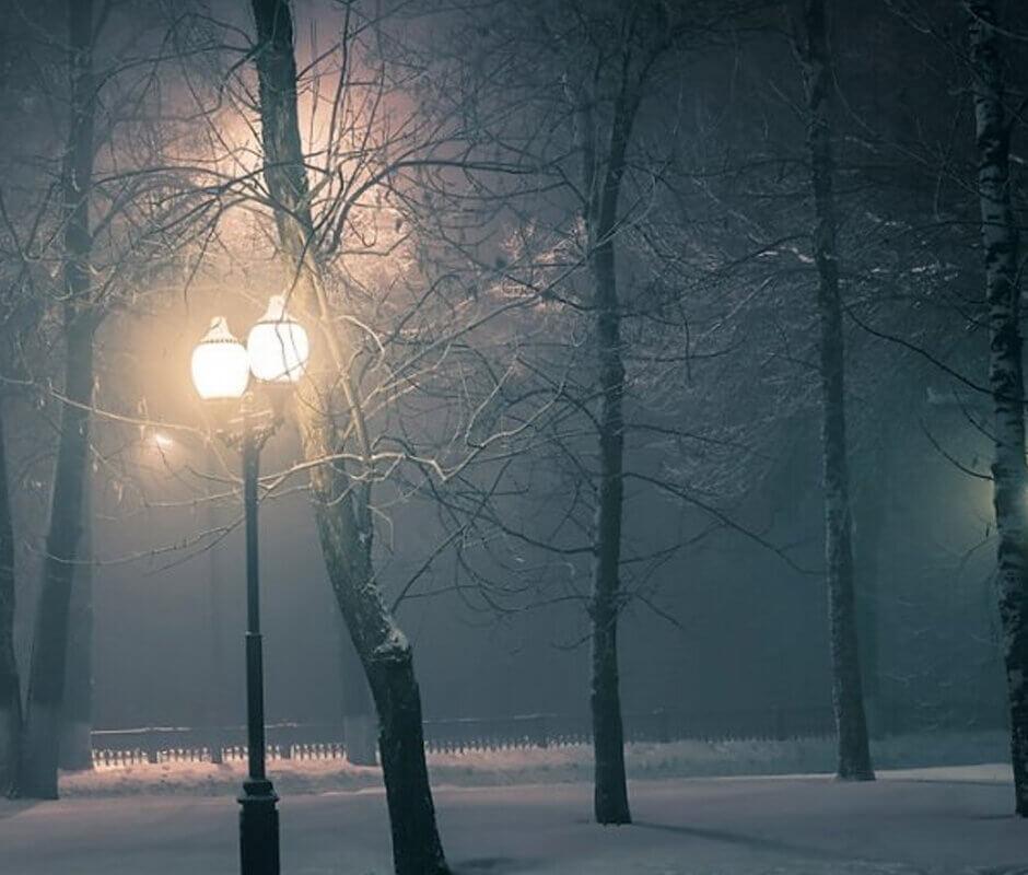 Новогодняя мистическая Москва