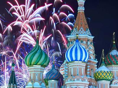 Пешеходная новогодняя экскурсия по Москве