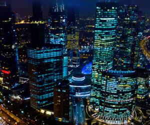 Огни новогодней столицы Панорама 360