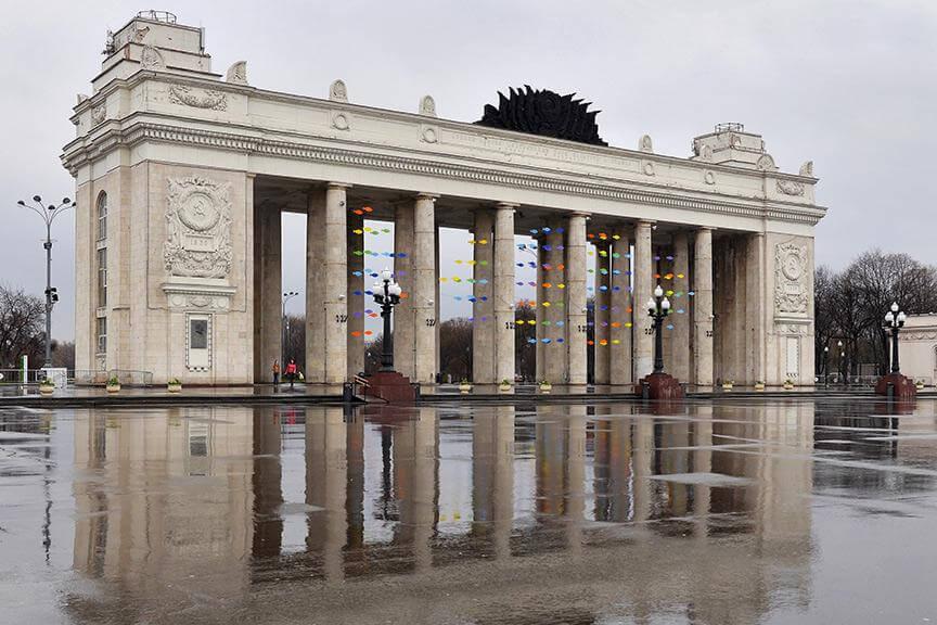 Крыши Москвы - экскурсия для иностранцев